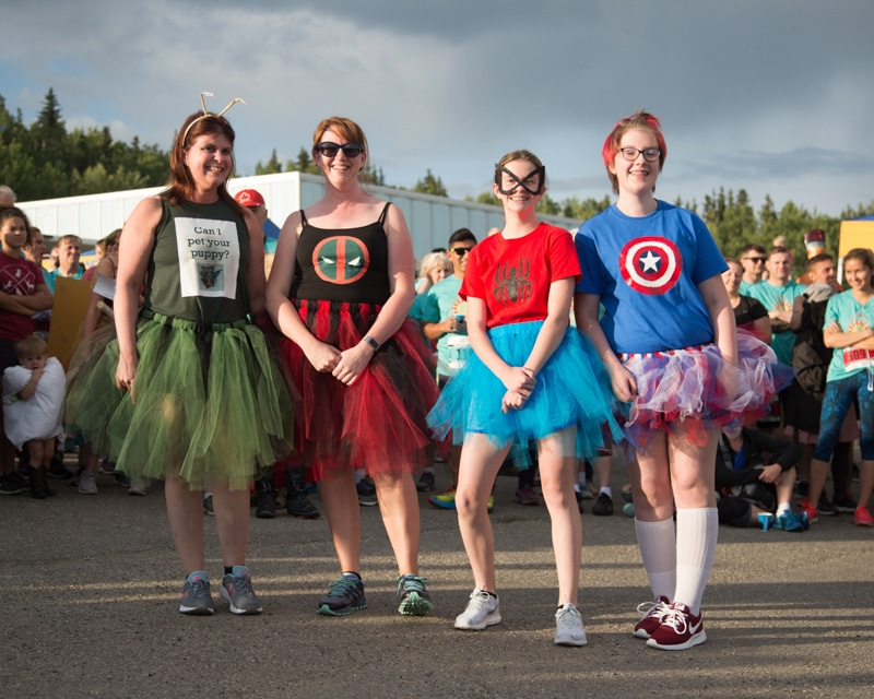 Midnight Sun Run Costume Contest 2018